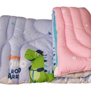 Одеяло гипоаллергенное + подушка, Крокодильчик